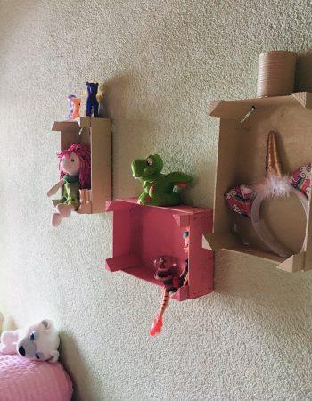 Mit nützlichen Basteleien können sich Kinder kreativ verwirklichen.Foto: handout/Ölz