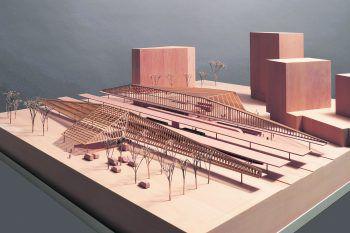 Modellbau der Mobilitätsdrehscheibe Bregenz.Foto: handout / Gnädinger Modellbau