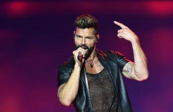 <p>Montevideo. Auf Tour: Der puerto-ricanische Sänger Ricky Martin performt auf einem Konzert in Uruguay.</p>