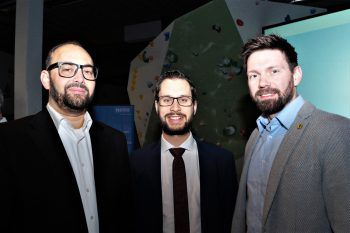 "<p class=""caption"">Niklas Keller (Stadtmarketing), RA Daniel Wolff und Björn Tyrner (GF Bregenz Handball).</p>"