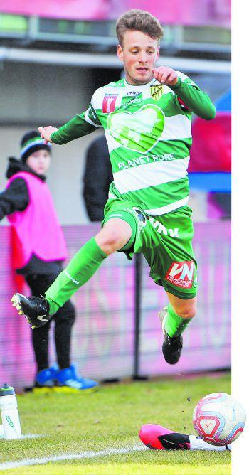 Pius Grabher und die Austria möchten im Flug ins Cup-Finale einziehen.Foto: GEPA