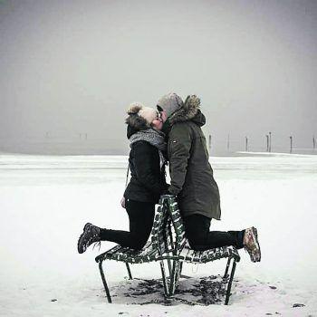 Romantisch: Eine Einsendung von Mathias.