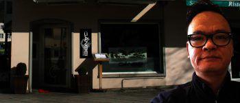 Xiaoliang Ye führt das Restaurant Ganbei am Dornbirner Marktplatz und den Asiamarkt in Hard.Foto: handout/privat, Montage: W&W