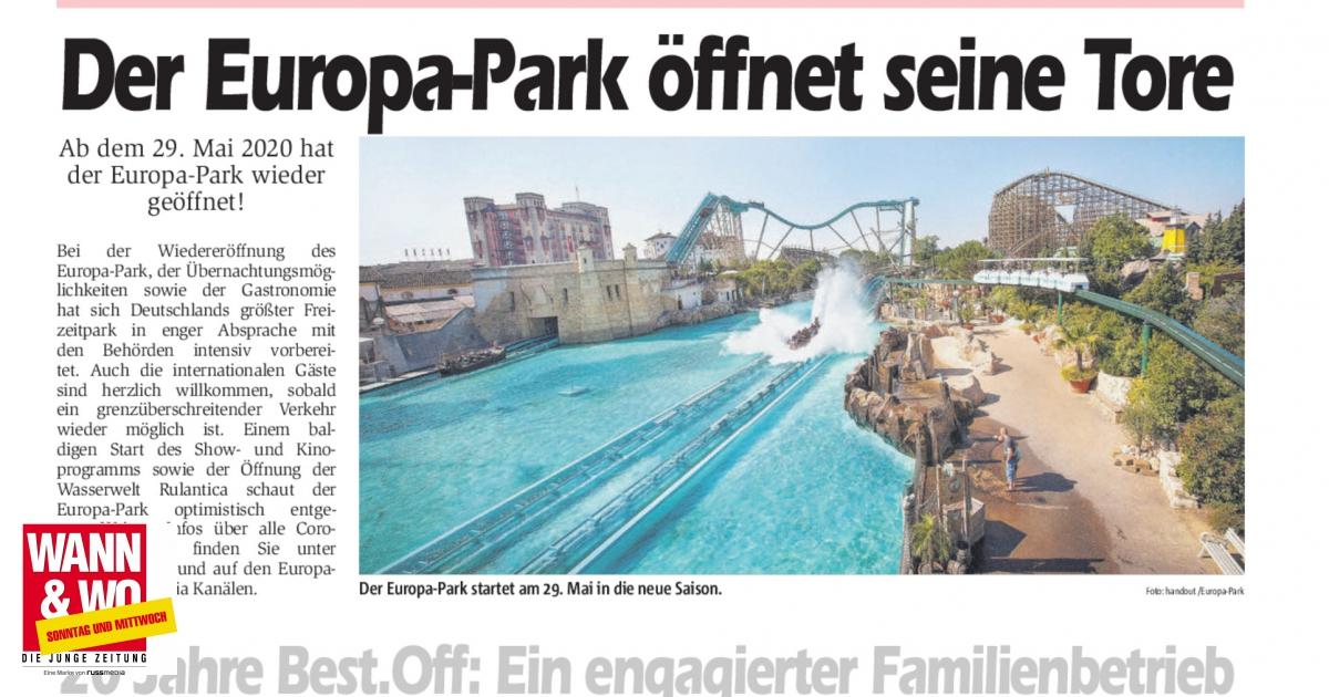 Wann öffnet Der Europapark Wieder
