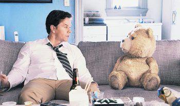 """<p class=""""title"""">Ted</p><p>Film, Komödie. Als Achtjähriger erlebt John, wie sein Teddybär Ted durch eine magische Fügung lebendig wird. 27 Jahre später ist Ted noch immer der Fixpunkt in Johns Leben. Mit Mark Wahlberg und Mila Kunis. Läuft ab morgen.</p>"""