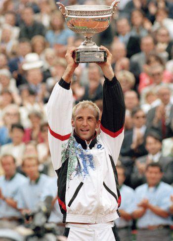 Am 11. Juni 1995 holte sich Thomas Muster den Sieg in Paris.Foto: AP