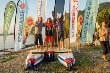 Andreas und Mike (Platz 1 und 2) bei den Landesmeisterschaften in der Kategorie Technical Race vergangenes Jahr in Bregenz am Bodensee. Fotos: W&W, handout Andreas Portenschlager