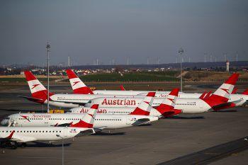 Aufatmen bei der AUA – der Fortbestand der Lufthansa-Fluglinie ist gesichert.Foto: Reuters