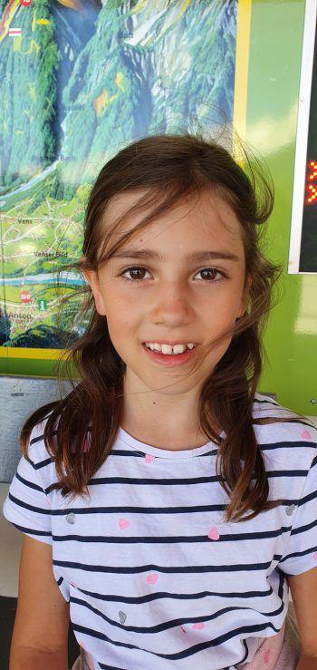 """<p>Aylin, 8 Jahre, Dornbirn: """"Beim Forschungspfad am Golm kann man viel über die Tiere, die Pflanzen und die Natur am Berg lernen. Die Rutschen waren für mich das Highlight – es war ein ganz schöner Ausflug!""""</p>"""