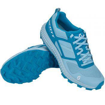 """Damen Trail-Running-SchuhDer Trail-Running-Schuh """"Shoe W's Supertrac 2.0"""" von """"Scott"""" bietet stabilen Halt auf allen Untergründen und ist auch für anspruchsvolle Bergtrails geeignet. Preis: 109,99 Euro."""