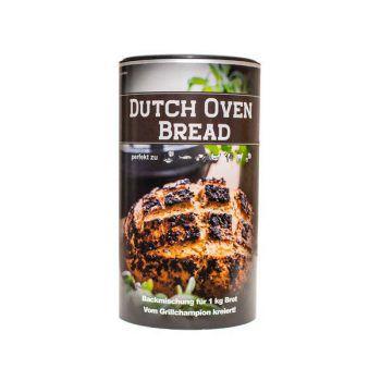 """<p class=""""caption"""">Das leckere """"Dutch Oven""""-Brot gelingt nicht nur im Dutch Oven oder am Grill, sondern auch klassisch und im Backofen. Einfach probieren und diese großartige Mischung aus Weizen-, Dinkel- und Roggenmehl genießen! Preis: 7,99 Euro. Gesehen bei: www.grillshop.at</p>"""