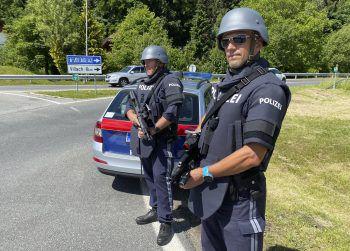 Die Polizei leitete eine landesweite, grenzüberschreitende Fahndung ein. Foto: APA