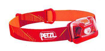 """Die Stirnlampe der Marke """"Petzl"""" sorgt dafür, dass man auch nachts immer gute Sicht hat. Preis bei Panto Outdoor: 19,99 Euro."""