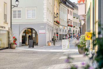 Ein Besuch in Bludenz lohnt sich: Die Alpenstadt lädt zum Flanieren, Bummeln und Genießen ein. Fotos: handout/Stadtmarketing