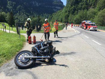 Der Motorradfahrer wurde bei dem Unfall auf der L200 schwer verletzt.Foto: VOL-Live/Mayer