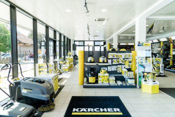 Im Kärcher Center Zwickle bekommt man alles von Kärcher. Fotos: handout/Kärcher Center Zwickle