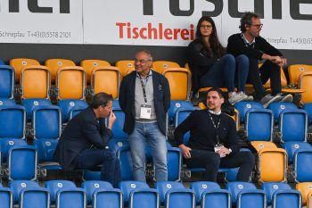 """<p class=""""caption"""">In der Cashpoint-Arena: Admira-Sport-direktor Felix Magath. Fotos: GEPA</p>"""