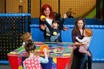 In der Spielfabrik können sich die Kleinen bei jedem Wetter austoben. Foto: handout/Spielfabrik