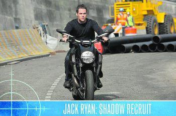 Jack Ryan: Shadow RecruitFilm, Action. CIA-Rekrut Jack Ryan (Chris Pine) verfängt sich in einem Netz aus Intrigen und Spionage und muss gleichzeitig als Soldat, Analyst und Frontkämpfer agieren, um einen verheerenden Anschlag auf die USA zu vereiteln. Mit Kevin Costner. Bereits abrufbar.