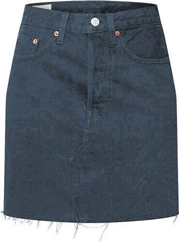 "<p class=""caption"">Jeans Rock von ""Levis"" Preis: 59,90 Euro statt 64,95 Euro. Jetzt bei Façona.</p>"