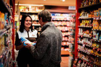 """""""Mit einer Lehre bei Spar kann man es weit bringen"""", ist sich Jacqueline sicher.Fotos: handout /Spar, MEDIArt"""