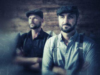"""Morgen wird das Akustik-Duo """"Montaphonics"""" für beste Live-Musik sorgen."""