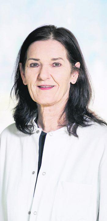 Oberärztin Dr. Gabriele Hartmann im WANN & WO-Sonntags-Talk. Foto: Karin Nussbaumer