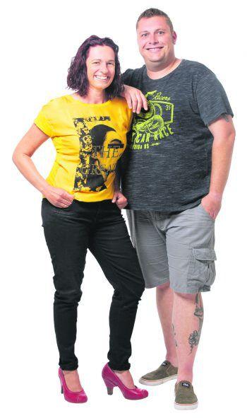 Sandra Aberer und Martin Weinzerlkönnen es kaum erwarten, wieder Bühnenluft zu schnuppern. Foto: handout/Sandra Aberer