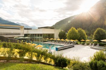 Schwimmbad, Fitnessstudio, Massage und Tennis – das Arlberg WellCom vereint alles unter einem Dach.Fotos: handout/Arlberg WellCom