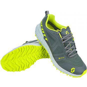 """<p class=""""title"""">               Scott Multisportschuh             </p><p>Der perfekte Laufschuh für feuchtes Wetter! Der Schuh ist wasserdicht, ideal für leichte Trails, hat beste Traktion eine integrierter Fersenkappe, Goretex©-Futter und nahtlose Konstruktion, Preis: 169,99 Euro.</p>"""