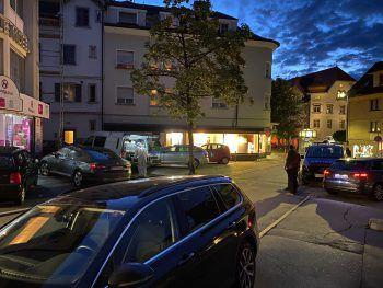 Tatort Marktstraße Dornbirn.Foto: Rauch