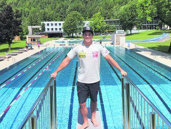 """<p class=""""title"""">               Val Blu             </p><p class=""""title"""">""""Auch im Val Blu bin ich sehr gerne. Neben den zahlreichen Trainingsmöglichkeiten im Fitnesscenter gehe ich auch sehr gerne schwimmen, das macht mir besonders im Sommer sehr viel Spaß!""""</p>"""