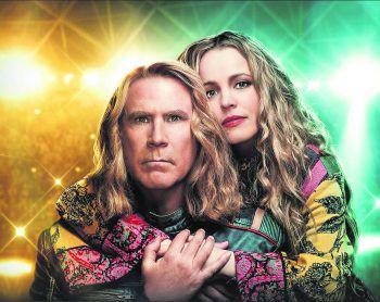 """Will Ferrell und Rachel McAdams sind das isländische Duo """"Fire Saga"""".Bild/Netflix"""