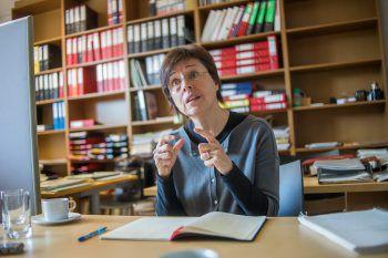"""Dr. Eva Grabherr, Historikerin und Geschäftsführerin der Vorarlberger Integrationsprojektstelle """"okay.zusammen leben"""". Foto: Philipp Steurer, handout/GRabherr, okay.zusammen leben"""