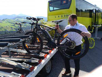 Ein Tages-Fahrradticket kostet sieben Euro.Symbolfoto: Regio Bregenzerwald