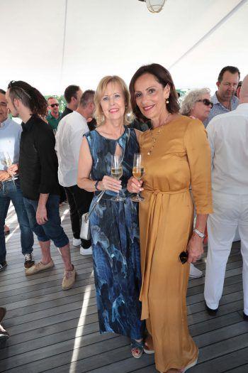 """<p class=""""caption"""">Gabi Germann und Josette Azzopardi.</p>"""