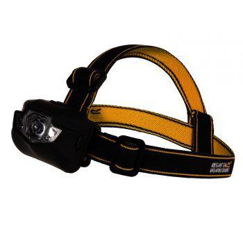 """<p class=""""title"""">               LED Stirnlampe             </p><p>Die """"Regatta""""-LED-Stirnlampe verfügt über unterschiedlche Einstellmöglichkeiten und sehr helle Leuchtkraft. Das elastische Kopfband ist leicht verstellbar. Preis: 7,99 Euro.</p>"""