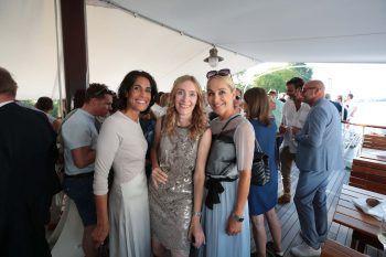 "<p class=""caption"">Samina Kraft, Architektin Nadine Gahleitner und Astrid Mangeng.</p>"