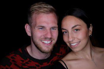 Thomas aus Dornbirn mit seiner langjährigen Freundin Athina. Fotos: handout/privaz