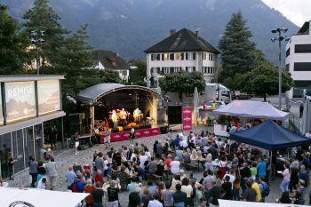 Diesen Donnerstag bis Samstag dreht sich in Bludenz alles um Jazz und Groove.