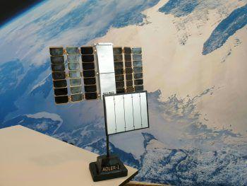 Adler-1 soll Weltraummüll sammeln.