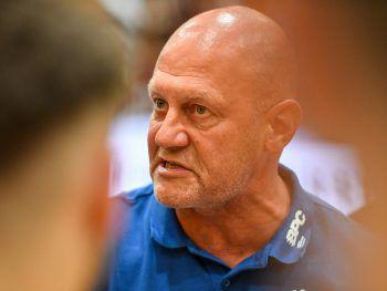 Coach Markus Burger pocht auf eine bessere Chancenauswertung seines Teams.Foto: GEPA