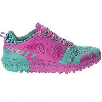 """<p class=""""caption"""">Der Damen Trailrunning-Schuh von """"Scott"""" besteht aus leichtem Mesh und ist um 119,99 Euro erhältlich.</p>"""