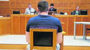 Der Täter wurde zu zwei Jahren und zehn Monaten Haft verurteilt.Foto: Eckert