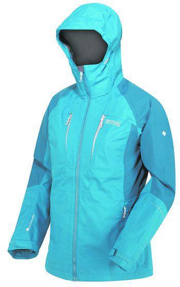 """<p class=""""caption"""">Die Damen Doppeljacke der Marke """"Regatta"""" ist wasserabweisend und atmungsaktiv. Preis: 99,99 Euro.</p>"""