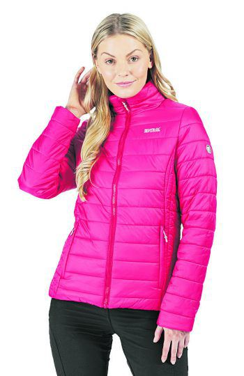 """<p class=""""caption"""">Die Damen Thermojacke von """"Regatta"""" ist perfekt für kalte Tage. Preis: 39,99 Euro.</p>"""