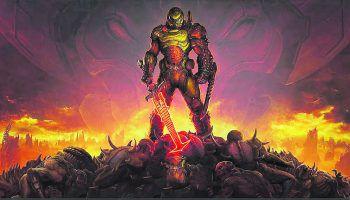 """DoomÜber die Ego-Shooter-Reihe """"Doom"""" muss wohl nicht mehr viel gesagt werden – in Gamingkreisen hat die Serie längst Kultstatus erreicht. Der erste Teil kam 1993 in den Handel und setzte neue Maßstäbe in Sachen 3D-Grafik. Der neuste Ableger erschien im März dieses Jahres."""