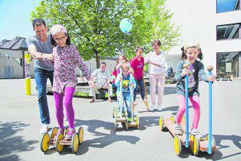 Eine familienfreundliche Kinderbetreuung hat für die Gemeinde einen ganz hohen Stellenwert.Fotos: handout/Gemeinde Wolfurt