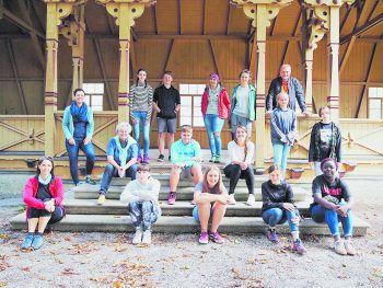 Einen Tag lang waren Jugendliche im Walgau unterwegs und lernten dabei viele spannende Dinge.Foto: Welt der Kinder/Sylvia Kink-Ehe