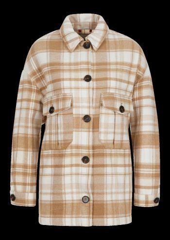 Herbstliche Jacke im Karo-Look89,99 Euro.